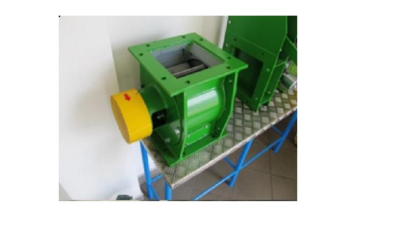 Rotační podavače pro sypké a práškové materiály