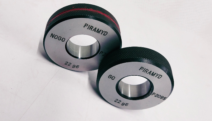 Plain Go-Nogo Ring Gauges are maintained within close tolerence and high degree of accuracy of form ...