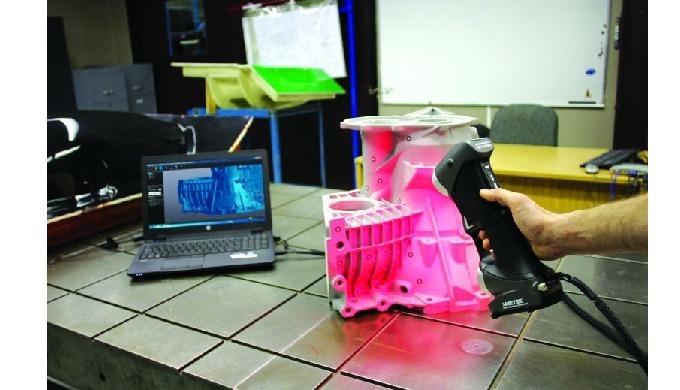 ScanPro™ Escaneado de objetos y generación de gemelos digitales de alta fidelidad. Nuestro sistema d...