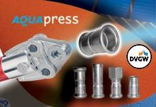 Typová řada AQUAPRESS firmy Schwer Fittings obsahuje širokou paletu lisovacích, přivařovacích a leto...