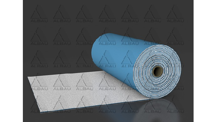 DUO SILENT + / IMPACT INSULATION UNDERLAY WITH FOIL STEAM BARRIER