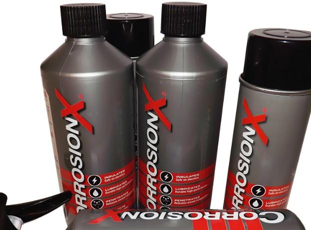 Description Corrosion X™ Anti-Korrosions-spray gibt dem Benutzer 'piece of mind' in Anwendung. Im Ge...