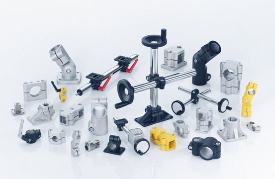 The Elesa GN series of connecting clamps and rods is a mounting system for equipment in industrial, ...