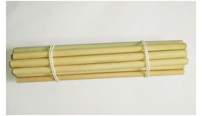 Bamboo straw is the best alternative solution for the plastic pollution caused by plastic straws. Ev...