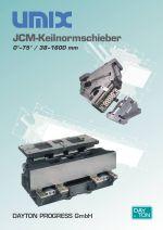 Normované klínové jednotky UMIX/JCM