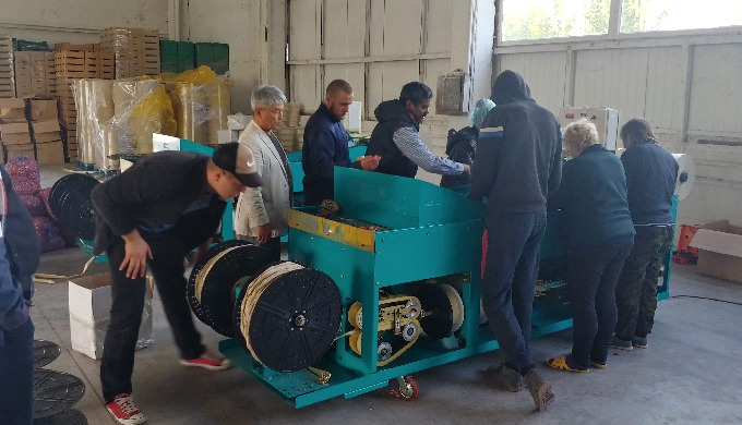 'Garlic planter', export to Ukraine