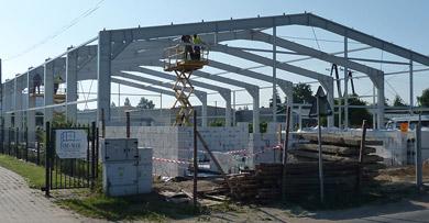 Hale fabryczne konstrukcja stalowa