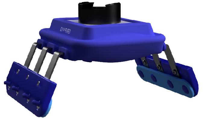 Vakuum sugekopper og griber til robot håndtering af fødevarer