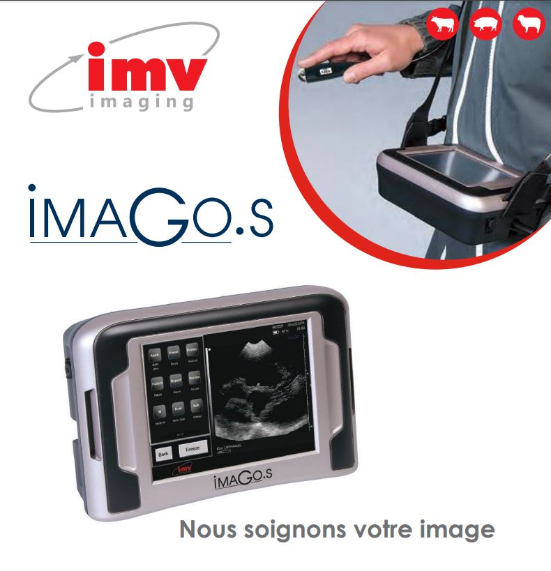 IMV imaging vous présente l'échographie vétérinaire robuste et ultra-portable : ImaGo S. C'est un co...