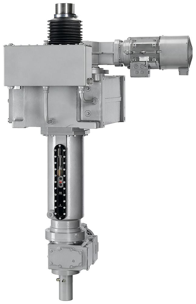 schrägverzahntes Getriebe / Winkelumlenkung / 3-stufig
