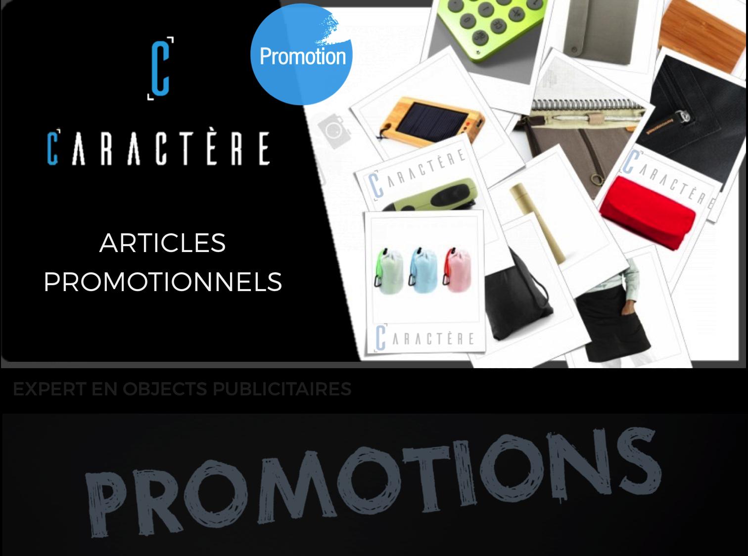 Articles promotionnelles