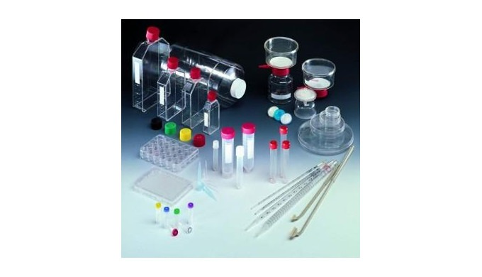 Articole de laborator din material plastic.