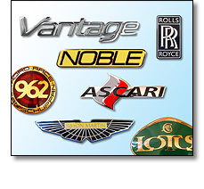 Automotive badges
