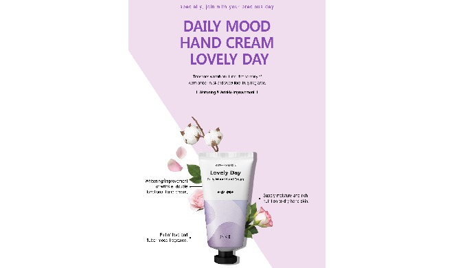 JNN-II DAILY MOOD HAND CREAM LOVELY DAY | cosmetics and skincare