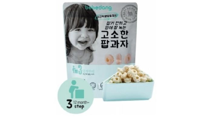 Baby Snack(Organic Brown Rice Pop Brown Rice Bud)