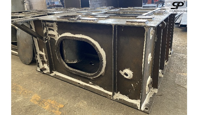OEM welding hydraulic oil tank for ship 1. steel plate: thickness is not limited -- no matter how th...