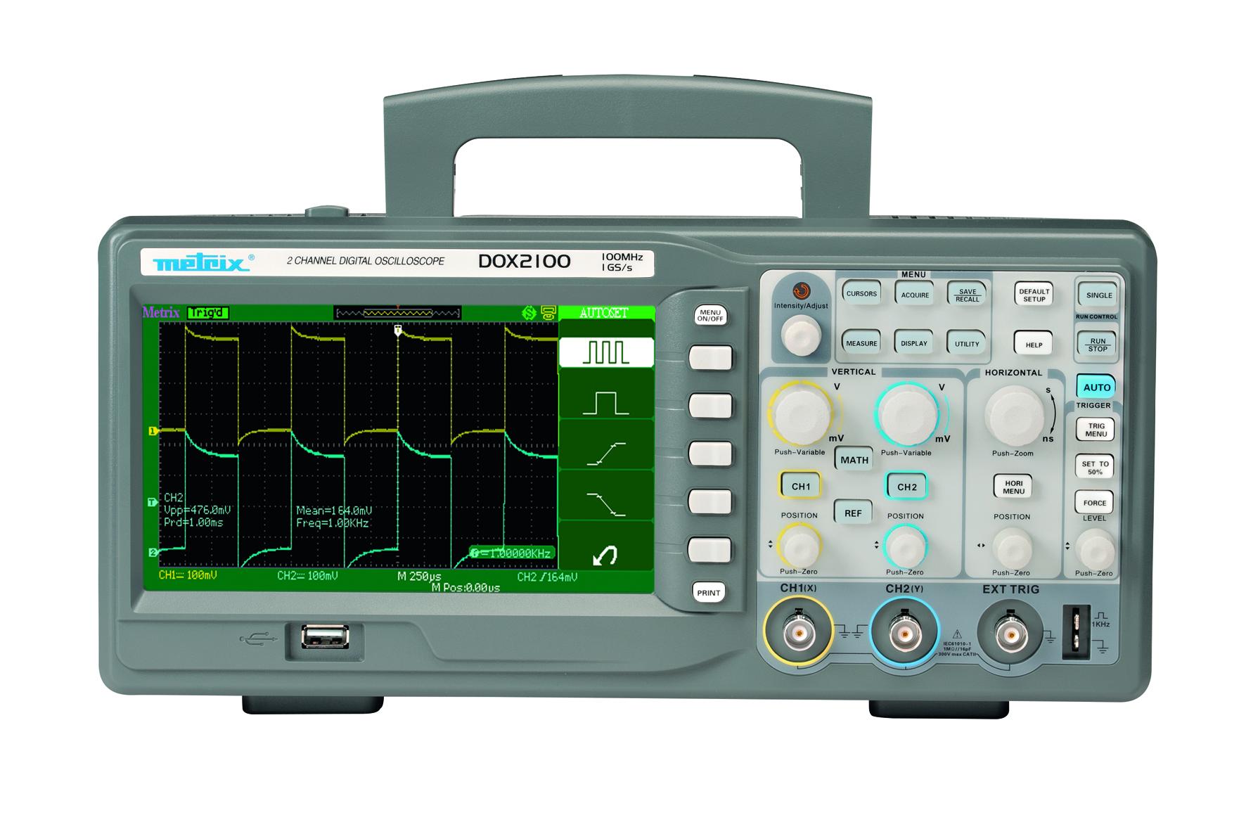 Très simple à utiliser, compacte et surtout très économique, la nouvelle gamme d'oscilloscopes DOX d...