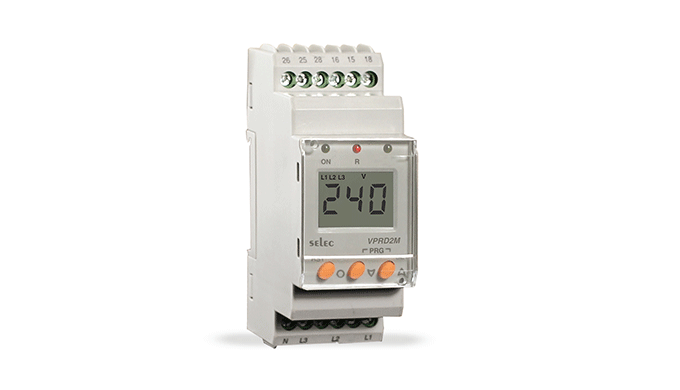 Ronak Switchgear - wholesaler and distributor of SELEC Digital Protection Relay (DIN RAIL VOLTAGE) i...