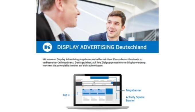 Werbebanner deutschlandweit