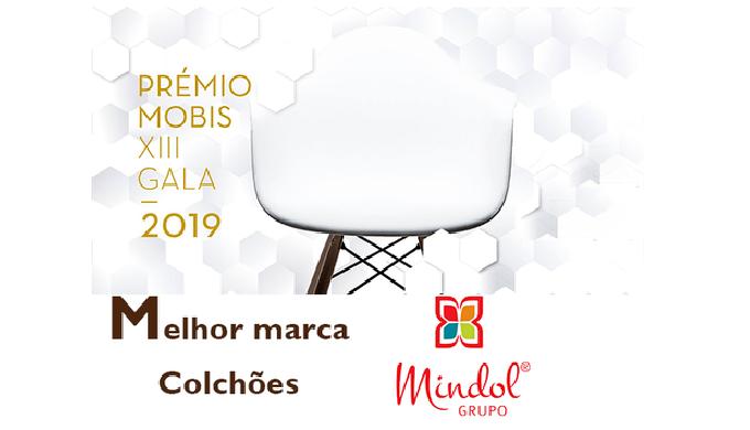 MARCA MINDOL FOI VENCEDORA DO PRÉMIO MOBIS PARA MELHOR MARCA DE COLCHÕES