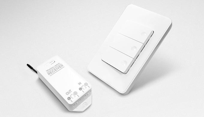 Self-power wireless switch