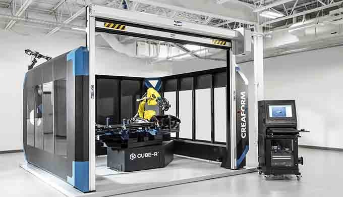 CUBE-R: LA MMT À NUMÉRISATION 3D LA PLUS RAPIDE