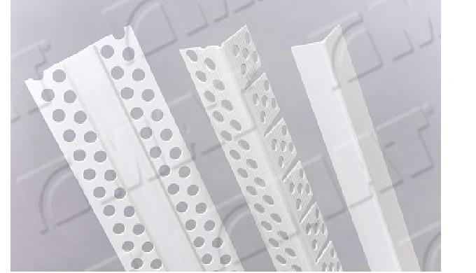 Plastové ochranné a ukončovací profily pro sádrokartony