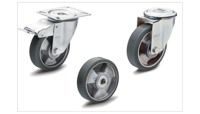 New ESD wheels and castors from Elesa prevent the build-up of electrostatic charge and thereby offer...