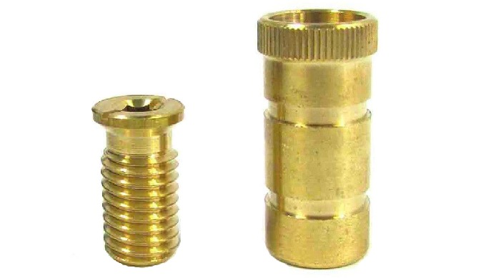 Brass Pool Safety Cover Anchor Threaded Bolt