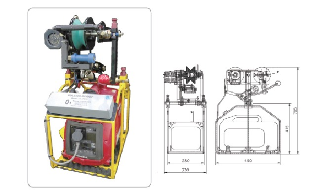 OPGW LIVE LINE SYSTEM | Overhead Power Transmission Line Construction Equipment SYSTEM SHALL USE TO ...