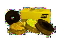 Plněné svařovací elektrody pro svařování v ochranné atmosféře plynu (FCAW)