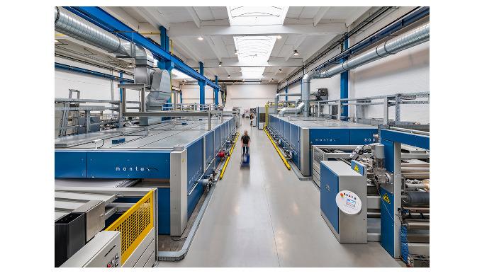 Der Firmenhauptsitz von Monforts befindet sich am Traditions-Standort in Mönchengladbach. Hier befin...