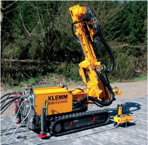 Utilajele de foraj KLEMM sunt destinate urmatoarelor tehnologii de foraj: - foraje de micropiloti - ...