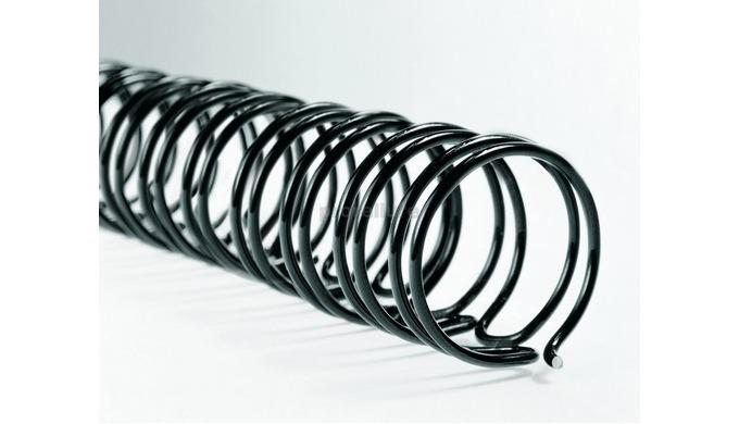 Utilisables sur toutes les machines wire O, WireBind, les peignes métalliques donnent une finition c...