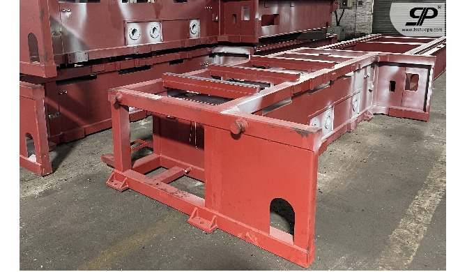OEM Big size Metal machinery frame 1. steel plate: thickness is not limited -- no matter how thick o...