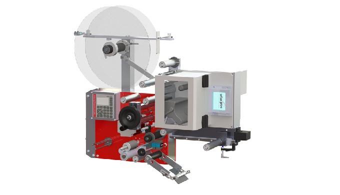 Mit dem WILUX System PLS31xx, ausgestattet mit einem Inline-Thermotransferdrucker von DATAMAX A-Clas...