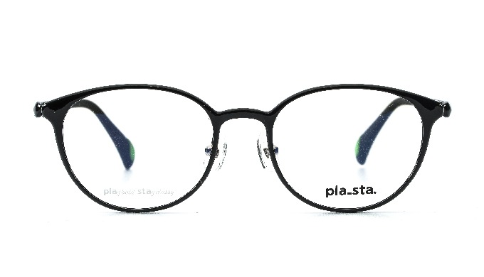 PLASTA / PS-103 Col.1 Black / Classic / Korea glass
