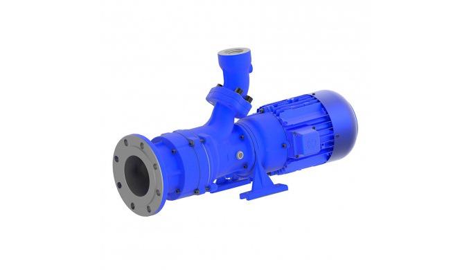 Pompes horizontales monobloc sont des pompes centrifuges d'une construction compacte où la roue est ...
