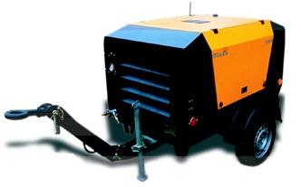 Screw compressor with diesel engine Deutz&Kubota