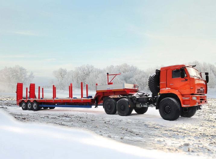 пневмопривод тормозов WABCO (Германия) -опорное устройство JOST (Германия) -подъёмник запасного коле...