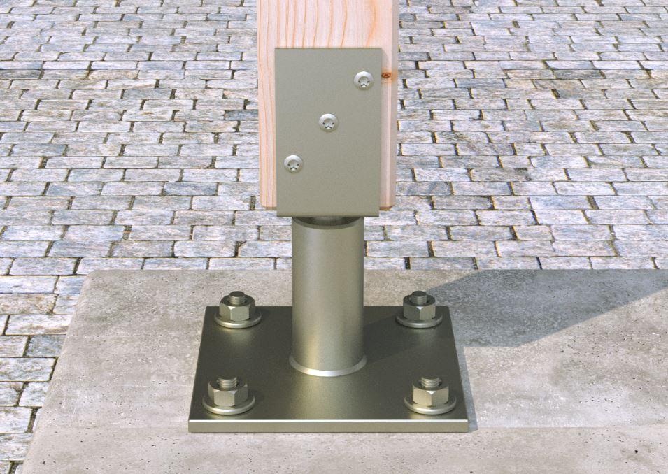 Le Goujon FBN II 6/30 en acier électrozingué est une cheville métallique à fixation économique pour ...
