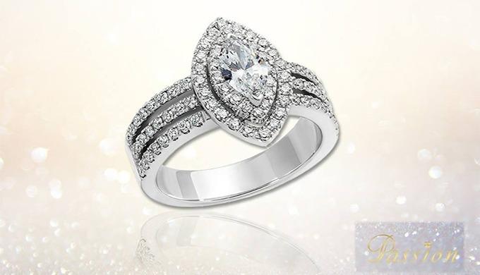 Exprimez votre amour avec une bague d'exception, parce que votre passion est comme nos diamants: rar...