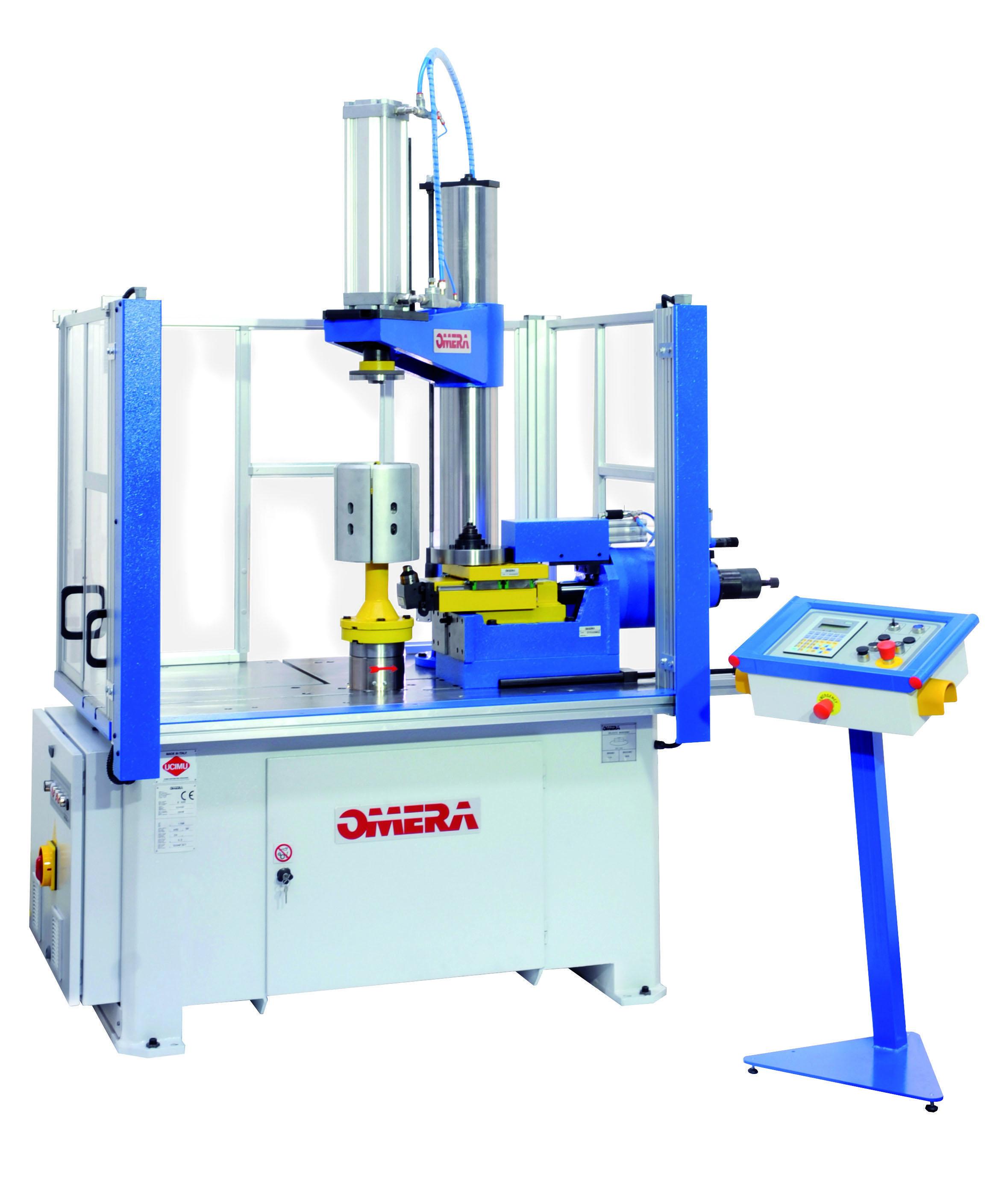 Omera es la empresa líder en el mundo en la fabricación de rebordonadoras y líneas de embutición y c...