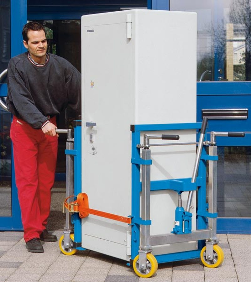 Für schnelles und sicheres Verfahren sperriger und schwerer Güter. Beim Umzug, Instandhalten oder Ei...