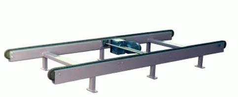 En stadig kedjetransportör för pallar, fat, backar mm. Användningsområden för våra kedjetransportöre...