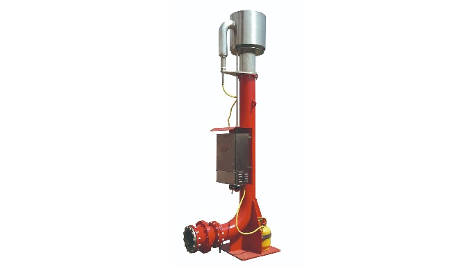Flare ignition device is used to light the waste gas like blown down natural gas, the tail gas from ...