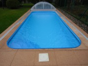 Venkovní bazény, plastové bazény