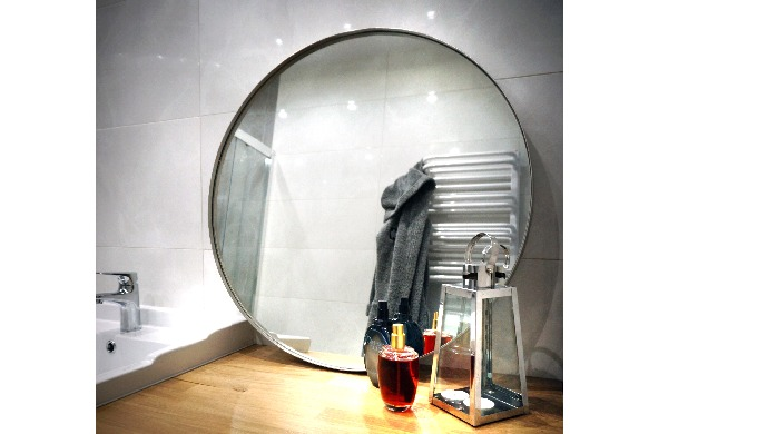 MIROIR ROND SWEET HOME