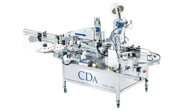 Conçue par la société CDA, la Ninon Mix est une étiqueteuse automatique permettant l'étiquetage des ...