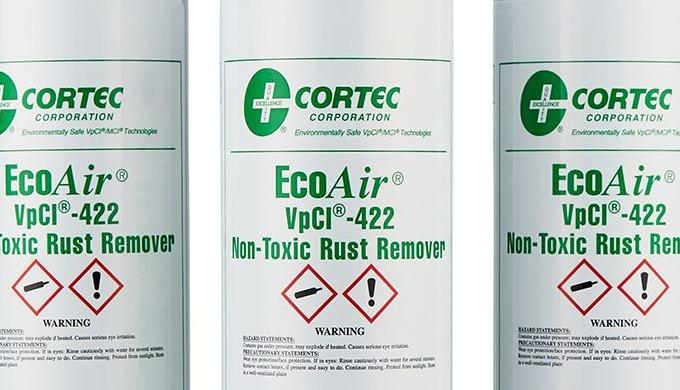 Das Cortec VPCI 422 EcoAir® Aerosol ist ein marktführendes flüssiges Rostentfernungsspray. Der hoch ...
